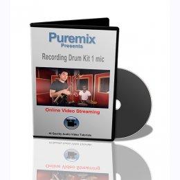 Puremix Recording Drum Set 1 Mic