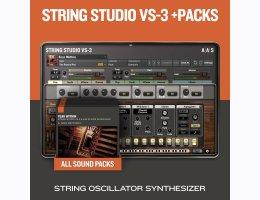 Applied Acoustics Systems String Studio VS-3 & Packs