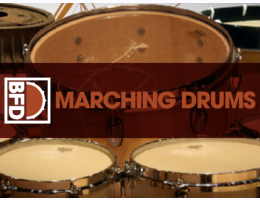 BFD Marching Drums