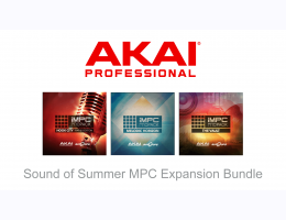 AKAI Professional The Sounds Of Summer MPC Expansion Bundle
